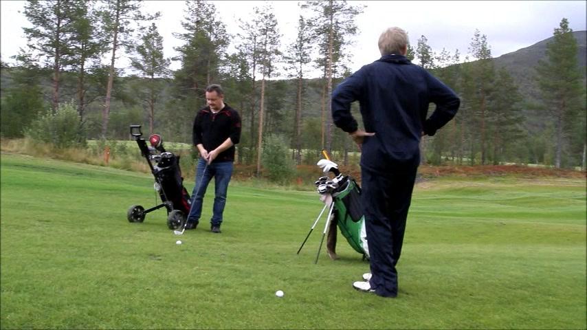 Golf med Rolf