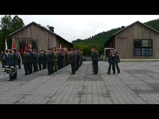 Generalmajor Odin Johannessens siste inspeksjon som Hærsjef