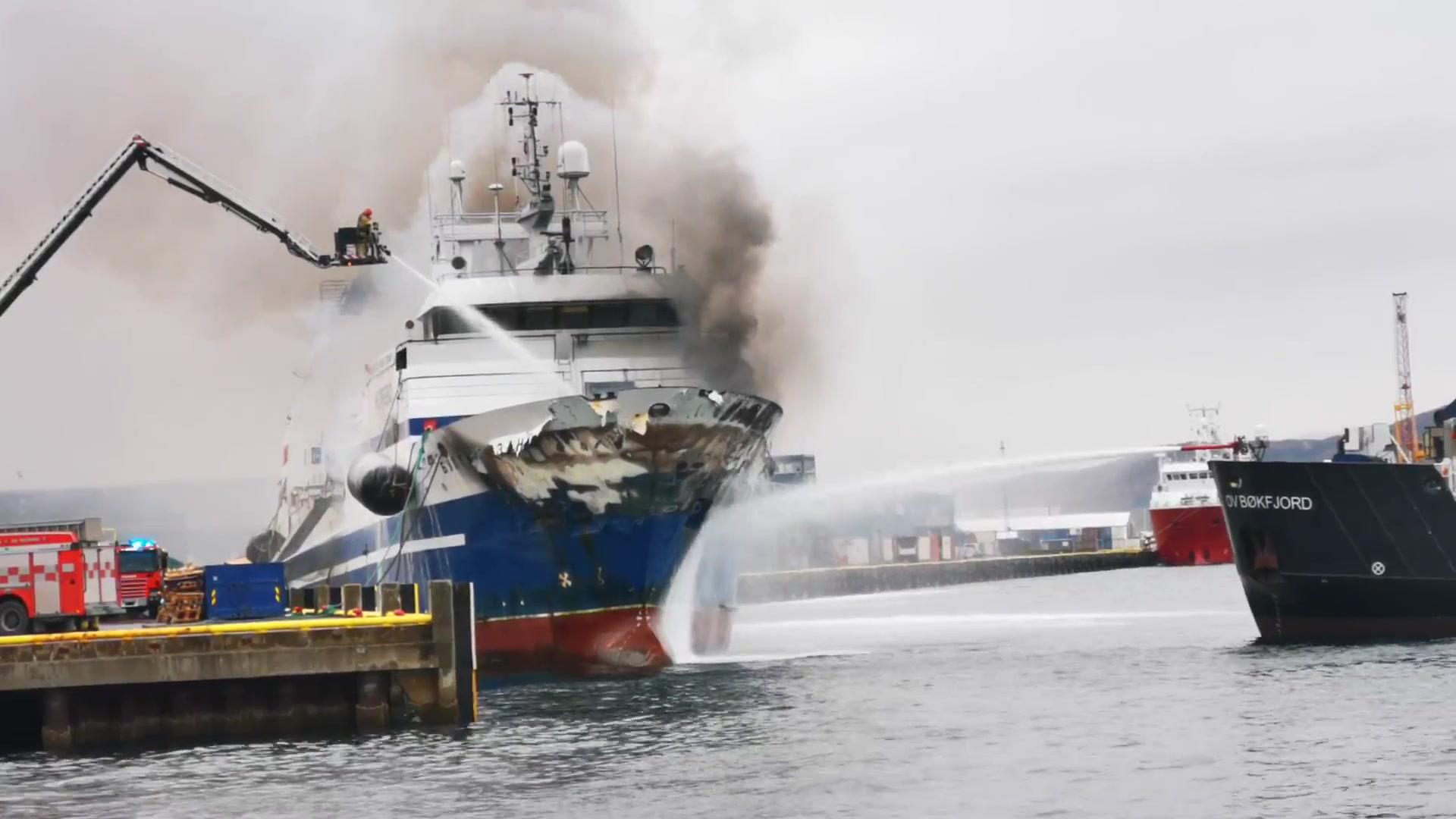 Trålerbrannen i Tromsø