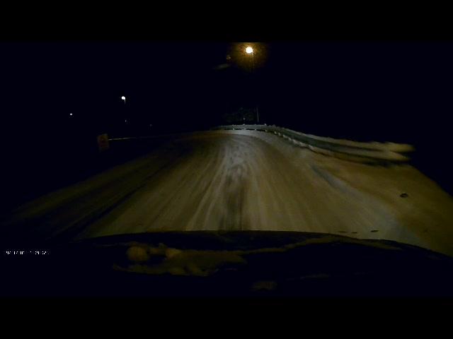 Vogntoget kommer i full fart i Brandvollbakken